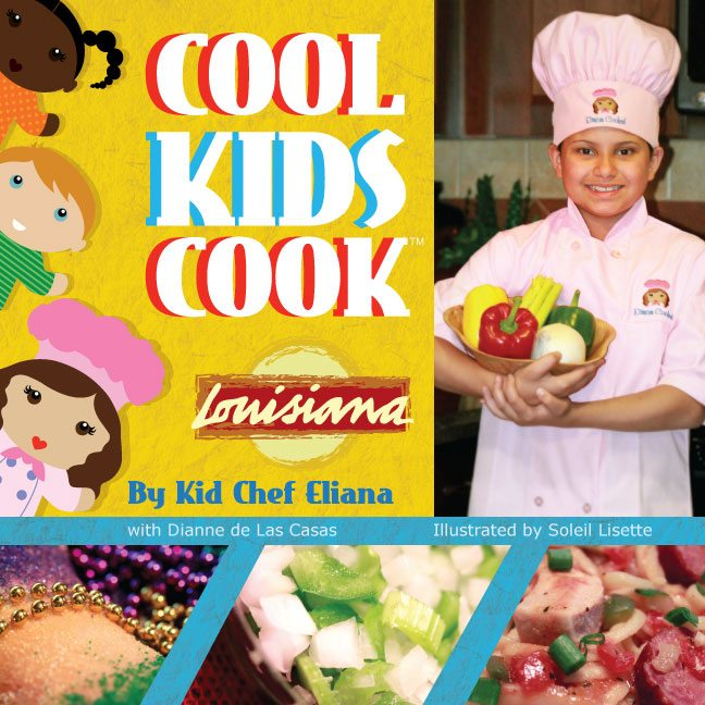 Cool Kids Cook Louisiana book cover