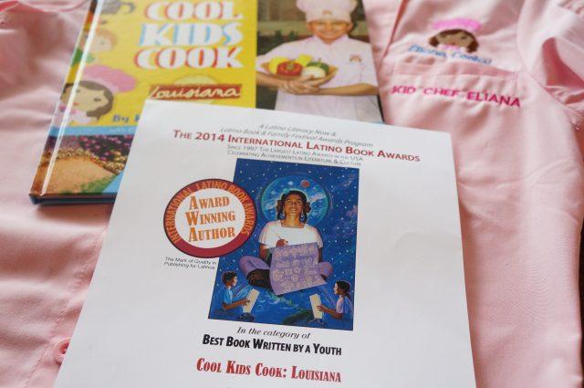 International Latino Book Award 2014 for Cool Kids Cook: Louisiana by Kid Chef Eliana