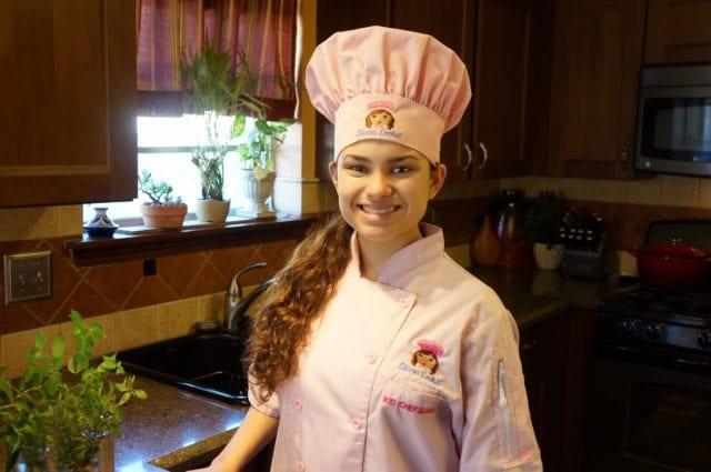 Kid Chef Eliana in her Kitchen 2016