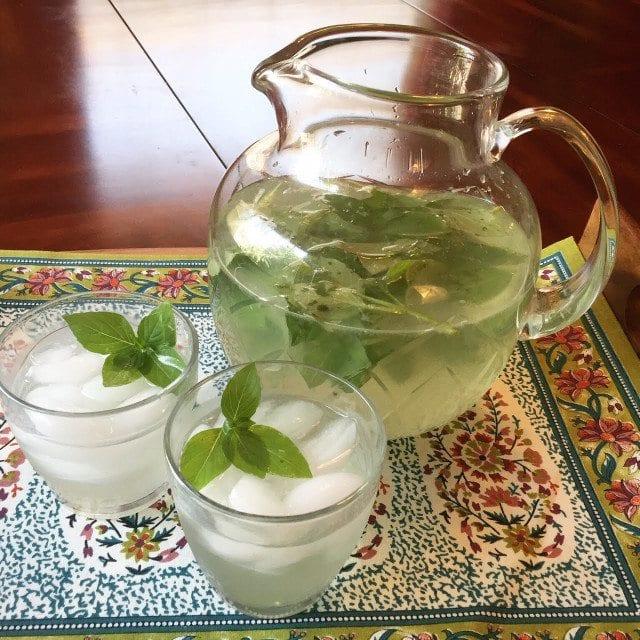 Lemon Basil Lemonade