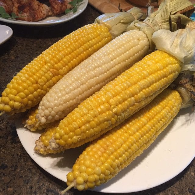 Oven-Steamed Fresh Corn