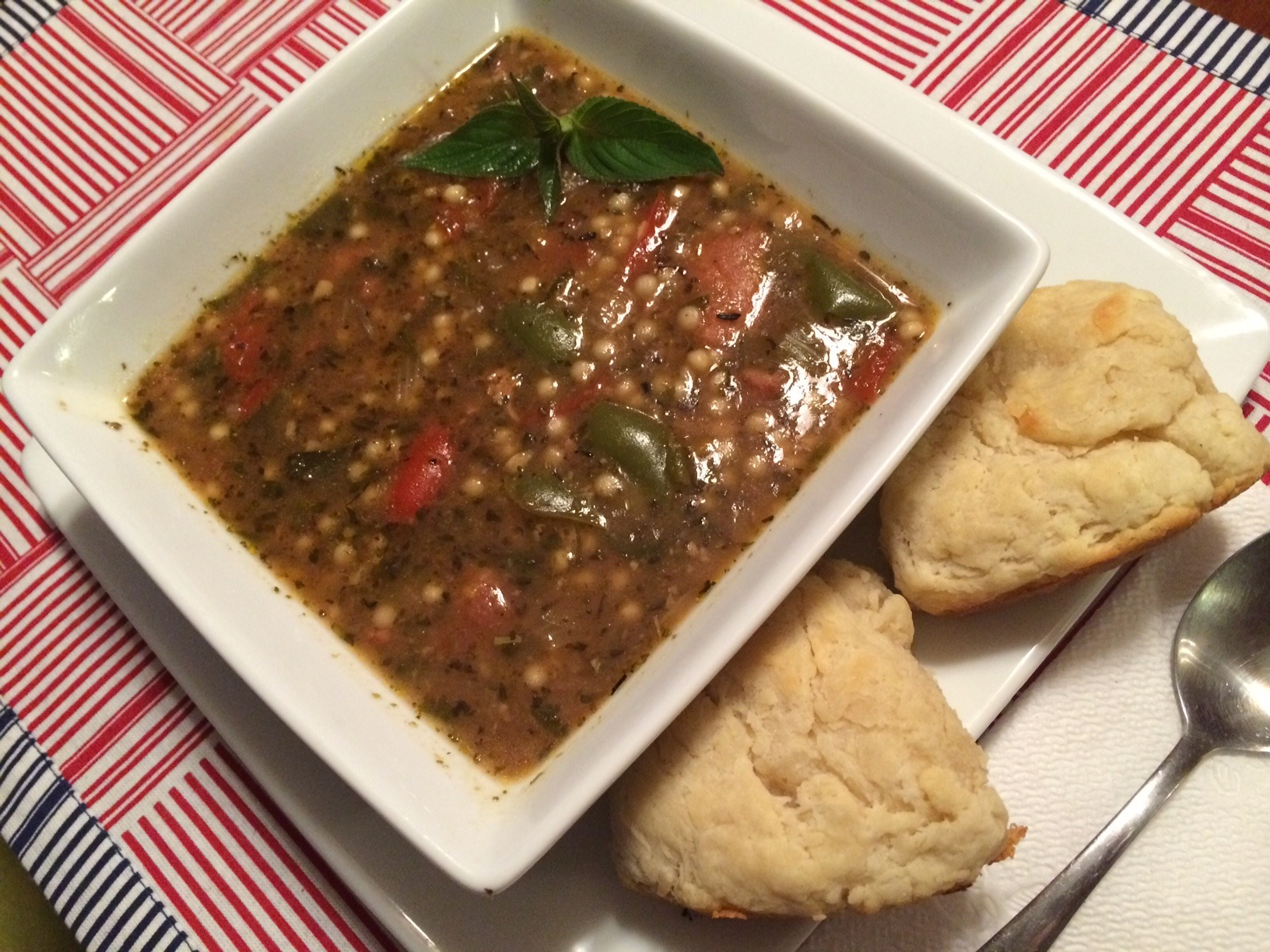Sage Pork and Pepper Stew