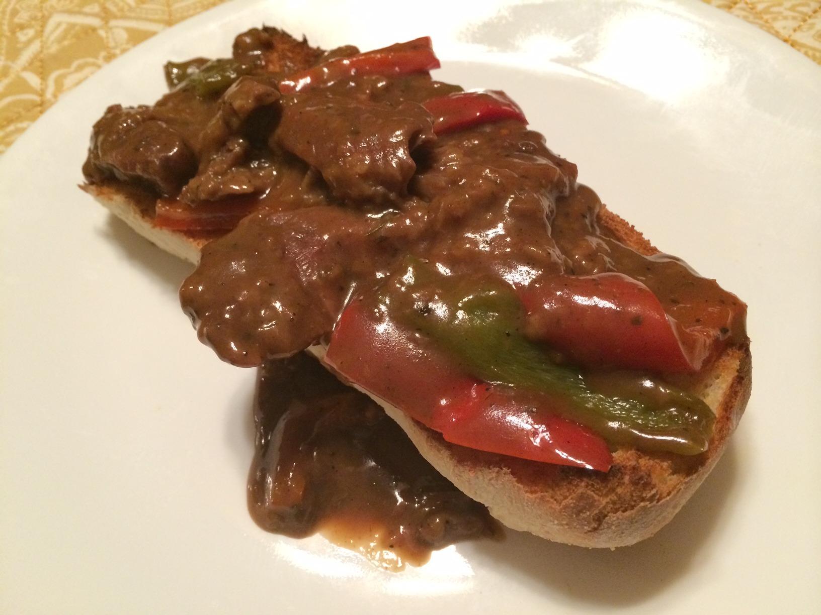 Pepper Steak with Gravy